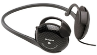Aiwa HP-AJ123 Neckband Headphones (Open Air Type, Carbon)