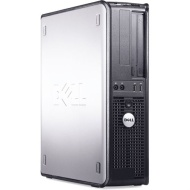 "Dell OptiPlex 745 Desktop Computer w/ Intel Pentium D 2.80 GHz, 1 GB RAM , 80 GB HDD, Combo Drive, Genuine Windows XP Pro + 17"" LCD Screen"