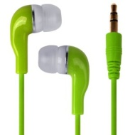 Shop4 Premium White Ear-Bud Ultra Bass Headphones / Earphones for Apple iPhone 3G / 3GS 4 / 4S