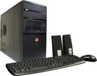 ZT Affinity 7243Xi-35 Desktop PC (Intel Core 2 Quad Q6700 Processor, 4 GB RAM, 500 GB Hard Drive, 20x Dual Layer DVD+/-RW, Vista Premium)