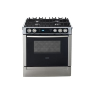 "Bosch 30"" Dual-Fuel Self-Clean Sealed Gas Range HDS705"