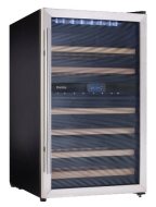 Danby DWC113BLSDB - 38-Bottle Wine Cellar - Black/Stainless-Steel