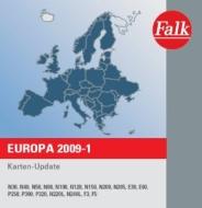 Falk Kartenupdate West- und Osteuropa 2009-1  für Falk Navigationssysteme der E-, N-, P-Serie sowie F3 und F5