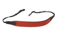 OP/TECH E-Z Comfort Strap - Correa ancha para cámaras y prismáticos, color rojo