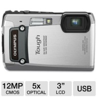 Olympus 8GB Kit Tough TG-820 iHS 12MP Water/Shock/Freezeproof Digital Camera - B