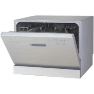 17.24 in. Portable Dishwasher in Silver