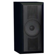 THIEL SCS4 in Black Ash High Performance Surround Bookshelf or Stand Loudspeaker (Front/Center, Single, Black Ash)