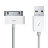 Wired--up USB Dock Connector Cable for All iPods/iPhones/iPads