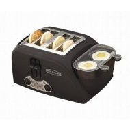 Back to Basics 4-Slot Egg and Muffin Toaster