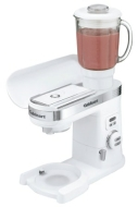 Cuisinart - 12-Speed Blender Attachment for Cuisinart Stand Mixers - White SM-BL