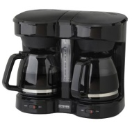 Kitchen Selectives Dual Carafe Coffee Maker
