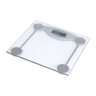 Peachtree GS-150 Tempered Glass Digital Bathroom Scale with LCD Display and 330-Pound Capacity