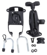 RAM Mounting Systems RAM-B-149Z-TO8U Ram Mount U-Bolt Rail Mount for the TomTom XL 325, 325 S, 325 SE, 330, 330 S, 335 S, 340, 340 S, 340 S LIVE