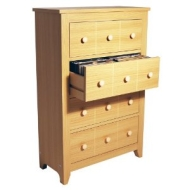 SHAKER - CD / DVD / Blu-ray / Media Storage Unit - Beech