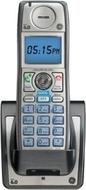 GE Digital 28203EE1 - Cordless extension handset w/ call waiting caller ID - DECT 6.0 - black, silver