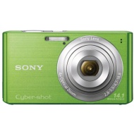 Sony Cyber-shot W610 Green Digital Camera