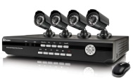 Swann Dvr4-1200 4 Channel Video Recorder With 2 X Pro-560 Cameras And