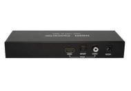 Viforo YUV/ YPbPr + VGA zu HDMI Konverter + Scaler 720p + zusätzlichem digital Coax SPDIF + Toslink Audio + Fernbedienung