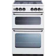 New World 500TSIDL Gas Cooker, Silver