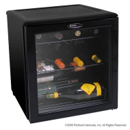 Danby 17 Bottle Wine Cooler Glass Door Black - DWC172BL