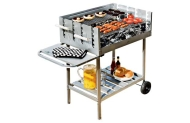 Deluxe Charcoal Trolley BBQ