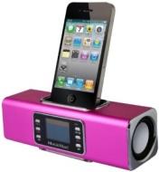MusicMan Wireless Soundstation BT-X1 (MP3 Player, FM Radio ,Bluetooth, LCD Display, USB, MicroSD Kartenslot, Line-In, Docking & austauschbarer, wieder