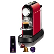 Nespresso CitiZ by Krups XN720540 Coffee Machine, Fire Engine Red