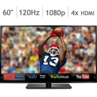 Vizio 60 Class 1080P 120Hz Razor Led Smart Hdtv