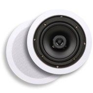 Micca Core Series C-6C 6.5-Inch In-Ceiling Speaker (Each, White)