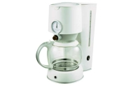 Sabichi White 1.25 Litre Coffee Maker