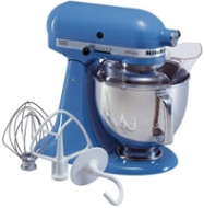 KitchenAid - Artisan Stand Mixer - Electric Blue KSM155GBEB