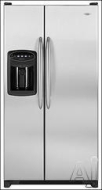 Maytag Side-by-Side Refrigerator MSD2651HE