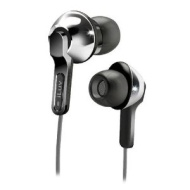 iLuv iEP322SIL City Lights In-Ear Earphones - Ultra Bass - Silver (Discontinued by Manufacturer)