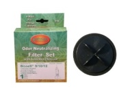 Bissell Part#203-2587 - Inner and Outer Circular Filter Set Replacement for Bissell Upright 9/10/12, CleanView II Bagless, 3574/3576 Series, PowerForc
