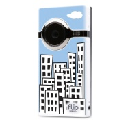 Flip MinoHD Video Camera - Skyline, 4 GB, 1 Hour (1st Generation) OLD MODEL