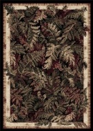 Home Dynamix Optimum 11033-450 Polypropylene 5-Feet 2-Inch by 7-Feet 2-Inch Area Rug, Black