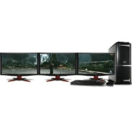 "MESH Gaming PC - 3D Vision - Ultima with Intel Core i7-2600K , 3x 23"" 3D Monitor Full HD, 1536MB NVIDIA Geforce GTX580 GPU"
