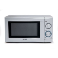 Sanyo Silver Manual Microwave