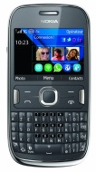 Vodafone Nokia Asha 302 Jazz Pay As You Go Handset - Grey