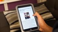 Barnes & Noble BNTV400 NOOK HD Tablet with 8GB Memory - Smoke
