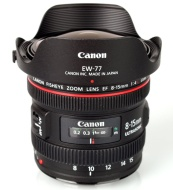 Canon 8-15mm F/3.5-4.5 Fisheye-Zoom Lens 4427B007AA