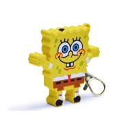 IN PHASE Audio Sponge Bob Silhouette MP3 Player Keychain