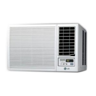 LG Heat  Cool Window Air Conditioner with Remote  7000 BTU