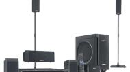 Panasonic 1000W, 5DVD, 5.1CH, IPOD DOCK, BAMBOO FRNT/CNTR, KELTON SUB, SMART SET