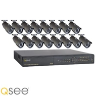QT426-1 Q-See 16 Channel DVR | Real-time | CIF/D1 Resolution | H.264 w/1TB