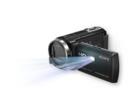 Sony HDR-PJ430V 32GB Full HD Camcorder 8.9MP stills with Projector
