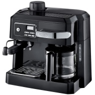 DeLonghi BCO320T Combination Espresso and Drip Coffee Black