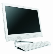Lenovo C365 19.5-inch All-In-One Desktop - White (AMD E1 2500 1.4GHz, 4GB RAM, 500GB HDD, Wi-Fi, Integrated Graphics, Windows 8.1)