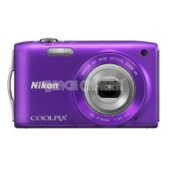 Nikon COOLPIX S3300 16MP 6x Opt Zoom 2.7 LCD - Purple