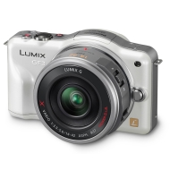 Panasonic Lumix DMC-GF3X 12.1MP Compact System Camera (12.1MP, 14-42mm lens ) 3.0 inch LCD - White
